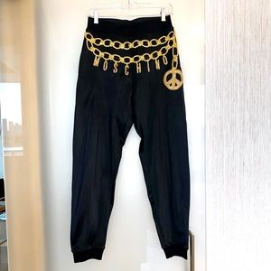 Moschino Joggers with Appliqué
